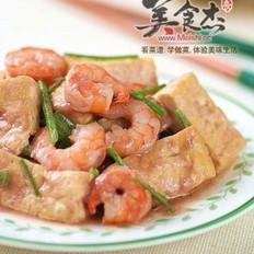 虾酱烧豆腐