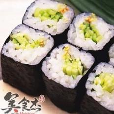 日本的紫菜卷寿司