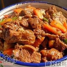 紅燜羊肉煲