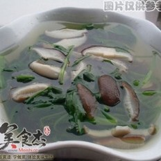 冬菇菠菜湯