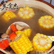 胡萝卜玉米牛蒡汤