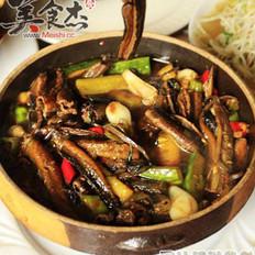 红烧鳝鱼段