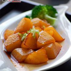 糖醋烧小萝卜的做法