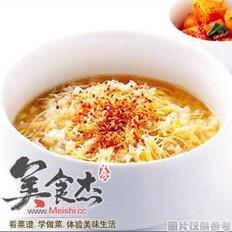 韩国拌饭-黄豆芽汤饭