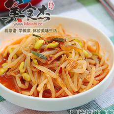 黄豆芽泡菜