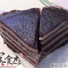 紫米九层糕