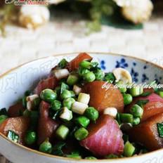 青蒜水萝卜