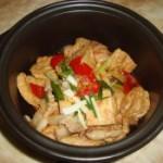 五花肉豆腐煲