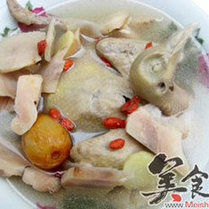 鲜土茯苓乳鸽汤