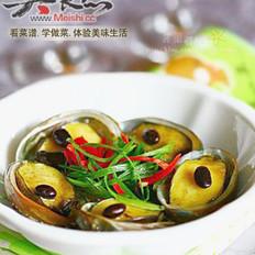 豆豉蒸鲍鱼的做法