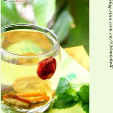 山楂决明子蜂蜜茶