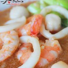 龙虾海鲜泡饭的做法