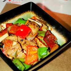 香干回锅肉