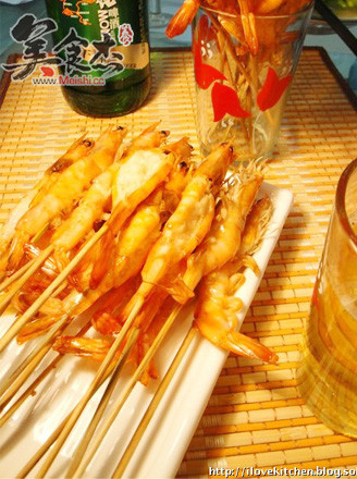 蒜蓉烤虾的做法