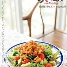 牛油果鱿鱼沙拉的做法