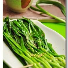 春天里的烤韭菜