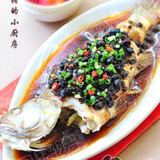 老干媽豆豉蒸魚