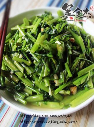 蒜蓉空心菜的做法