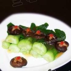 香菇油菜的做法大全