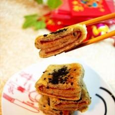 香酥南乳豆渣饼