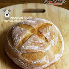 咖啡网纹面包