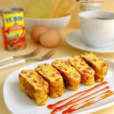 番茄火腿蛋卷