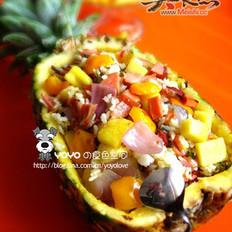 DIY菠萝咕噜饭