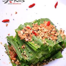 杏仁黑芝麻油麦菜