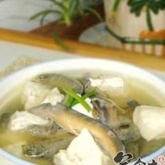 清炖泥鳅豆腐
