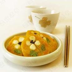 坚果南瓜饼