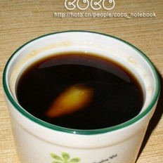 红糖黑枣姜茶
