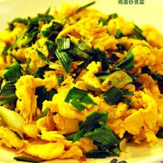 鸡蛋炒青蒜