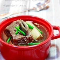 牛蒡牛排汤的做法大全