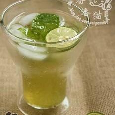 薄荷青柠檬水