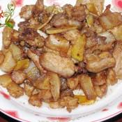 姜蒜五花肉