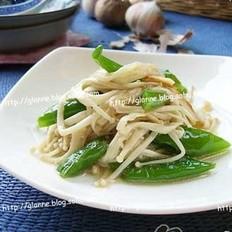 蒜香杭椒金针菇