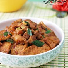 五花肉烧豆腐