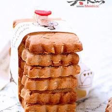 杏仁巧克力酱饼干