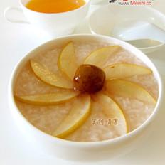山楂酥梨冰粥