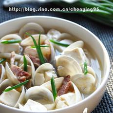 蛤蜊豆腐汤的做法大全