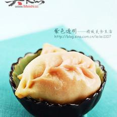 淡奶油咖喱西葫蘆餡漸變煎餃