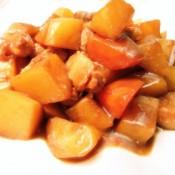 五花肉烧土豆萝卜