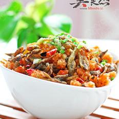 鲊辣椒炕绿豆鱼