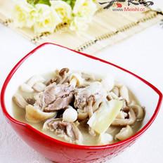 雙菇羊肉煲