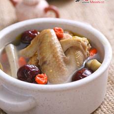 牛蒡红枣煲土鸡