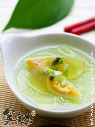 黄瓜皮蛋汤的做法