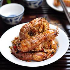 椒盐濑尿虾