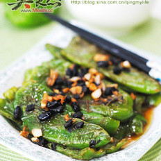 豆豉虎皮青椒