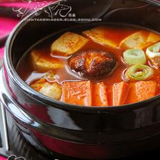 韩式泡菜什锦汤