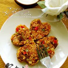 韩式泡菜牛肉炒饭